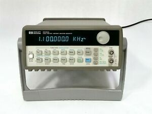 Hp Keysight Agilent 15mhz Function Arbitrary Waveform Generator Gpib