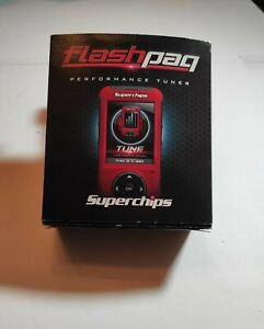 Superchips 4845 F5 Flashpaq Ford Gm Dodge Programmer Hand Held Tuner Vg Cond