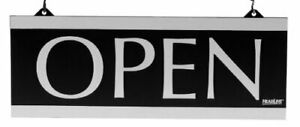 Headline Sign Century Series 2 sided Reversible open closed Sign With H