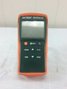 Extech Easy View 11a Type K Thermometer No Probes