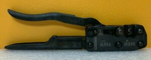 Fci Harting 09990000075 20 28 Awg Side Entry Ratchet Type Hand Crimp Tool