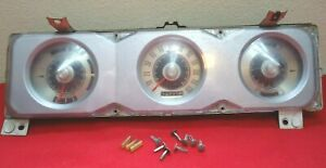 Vintage Ford Torino fairlane Dash Cluster Oem C90f Fomoco Parts Only