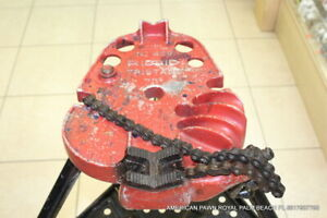 Ridgid 450 Chain Pipe Vise tripod Stand 4 Pipes Up To 5 Pick Up Palm Beach