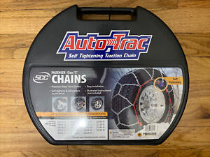 Auto Trac Track 0154010 Tire Snow Chains Self Tightening
