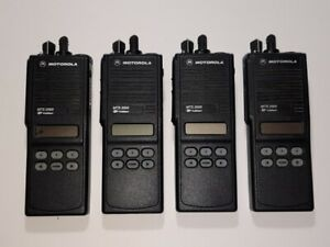 Lot Of 4 Motorola Mts2000 Radio Uhf 450 520mhz 160ch 4w Free Programming Gmrs