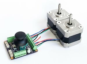 Joystick Stepper Motor Controller Drive For Xy Stage Or Pan Tilt