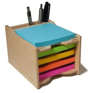 Sticky Notes Pad 4 X 4 In And Pen Holder organizer pads Not Included