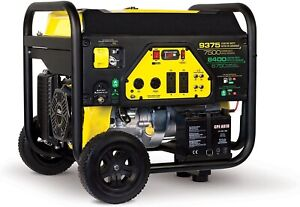 Portable Generator Dual Fuel Lp And Gas 7500 Watts Gas 6750 Watts Lp