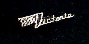 Ford Crown Victoria Hat Lapel Pin Accessory Emblem Badge Fomoco Oval