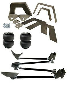 Rear Universal Weld On Kit 8 Frame Notch Triangulated 4 Link Air Lift D2500