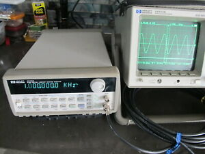 Hp Agilent 33120a 15mhz Function arbitrary Waveform Generator Tested