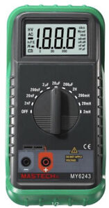 New Mastech My6243 Lcr Digital Multimeter Capacitance Inductance Tester