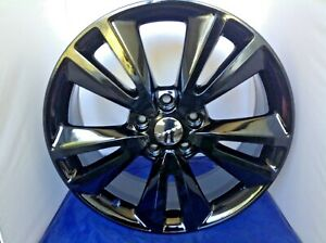20 Dodge Durango Black Wheels Rims Factory Oem Set Of 2393 Buying Out Right New