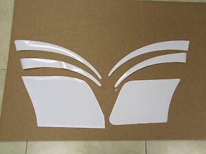Porsche 944 Clear Stone Chipping Protective Film Paint Guard Sticker Set