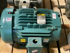 Baldor 15 Hp Electric Motor 254t Frame 1765 Rpm 3 Phase 230 460 Vac Ecp2333t