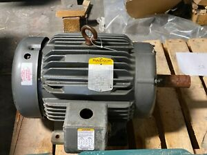 Baldor 15 Hp Electric Motor 254t Frame 1760 Rpm 3 Phase 230 460 Vac M2333t