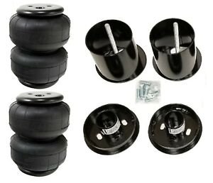 Front Air Ride Suspension Kit W Air Lift D2500 Bags Mounting Cups 65 70 Cadillac
