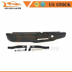 For 1995 2004 Tacoma Standard Truck Rear Step Bumper Assembly Textured Black