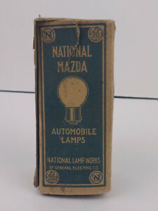 Vintage 1920 s National Mazda Rear Speedometer Auto Car Light Lamps