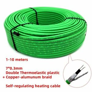 Heating Cable Waterproof Warming Freeze Protection Snow Melting Self Regulating