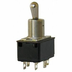 Eaton 7563k6 Toggle Switch dpdt 10a 250v quikconnct