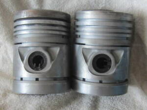 Pair John Deere 520 530 Lp Gas Standard Pistons 5316r B3651r With B3657r Pins
