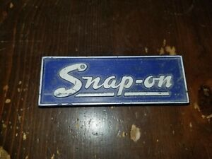 Vintage Snap On Tool Box name Plate Emblem 1976 Bicentennial Edition Badge Usa