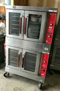 Vulcan Vc4gd Double Stack Full Size Natural Gas Convection Ovens Nice