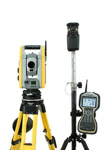 Trimble S6 2 Dr Robotic Total Station W Tsc3 Data Collector Access Software