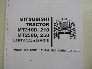 Mitsubishi Mt210 Mt250 Tractor Parts Manual