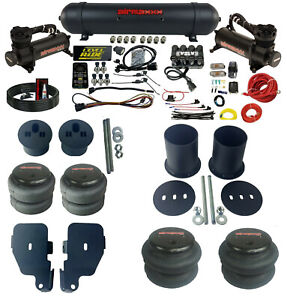 3 Preset Pressure Complete Air Ride Suspension Kit For 1965 70 Chevy Impala Cars