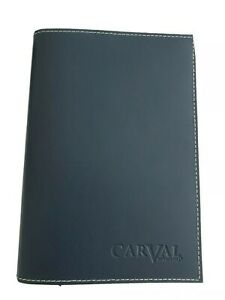 Leather Bound Notebook Carval