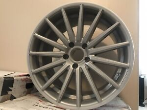 4 19x9 Front 19x10 5 Rear Silver Wheel Vossen Vfs2 5x120 Bmw Chevy Wheels Rims