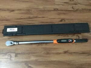 Matco Tools 1 2 Drive Etwc250f Electronic Flex Head Torque Wrench With Angle