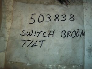 Tymco Street Sweeper Broom Tilt Switch Part Number Ty503838 0720