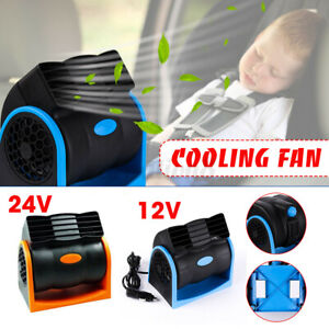 7w 12v Low Noise Portable General Car Truck Electric Cooling Fans Radiator Usa