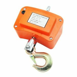 500kg 1100 Lbs Safty Use Digital Hanging Scale Industrial Crane Scale ac Adapter