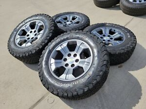 18 Chevy 2020 Tahoe Z71 Oem Wheels Gray Rims Tires 5695 2018 2019 Silverado New