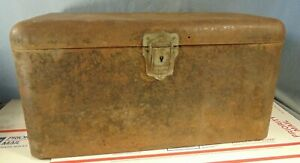 1920s Automobile Running Board Tool Box Original Ford Model T Chevy Packard Nash