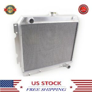 For 1968 1974 Dodge Mopar Plymouth 22 Small Block 3 Rows Aluminum Radiator