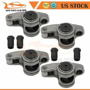 Fits Chevy Sbc 350 1 6 Ratio 7 16 Stainless Steel Roller Rocker Arms Set