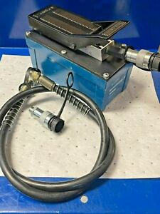 Temco Hp0000 Air Hydraulic Pump Power Pack Unit 10 000 Psi 103 In3 Cap used