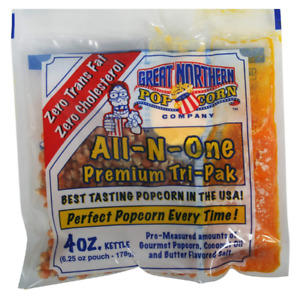4100 Great Northern Popcorn 4 Ounce pack Of 24 Premium Popcorn Portion Packs