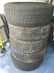 5 Wrangler All Terrain Adventure With Kevlar Tires Size 265 70r16 Like New