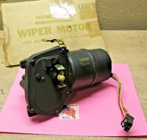1967 1968 Ford Ltd Galaxie Country Squire Rebuilt Wiper Motor C7af 17504a Usa