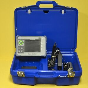 Olympus Magnamike 8600 Hall Effect Inspection Thickness Gage 86pr 1 Probe Ndt