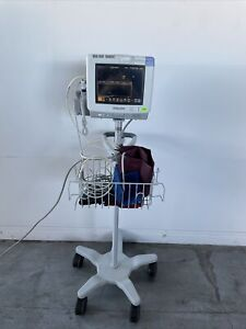 Philips Intellivue Mp5sc Patient Monitor With Stand And Extras