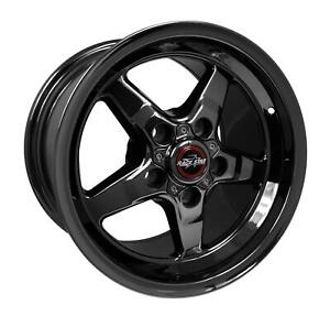 Racestar Industries 92 Drag Star Dark Star Black Chrome Wheel 92 510154dsd