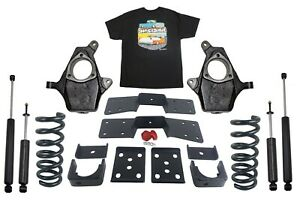 4 Front 6 Rear Suspension Lowering Drop Kit For 1999 06 Silverado 1500 V6 Only
