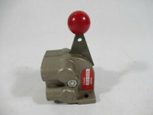 Schrader Bellows 823 0109 2 Position Manual Pneumatic Valve 1 4npt Used
